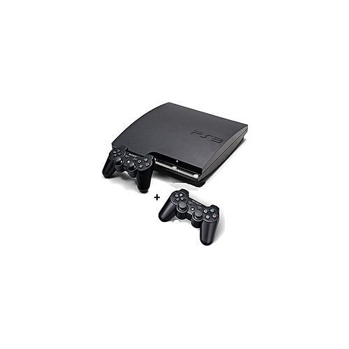 Ps3 Slim Console 500gb With 20games Downloaded 2 Pads