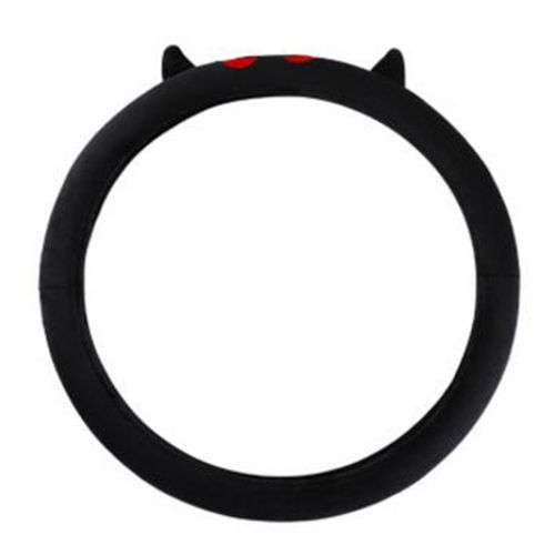 OR Soft Plush Car Steering Wheel Covers Extremely For Black