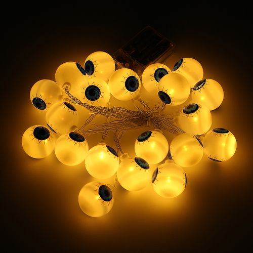 Halloween 10/20 LED String Lights Fairy Strings Party Outdoor Indoor