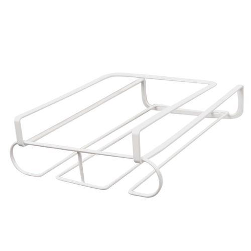 Wine Glass Rack - Under Cabinet Stemware Rack Glasses Storage Holder Metal Organizer For Bar Kitchen