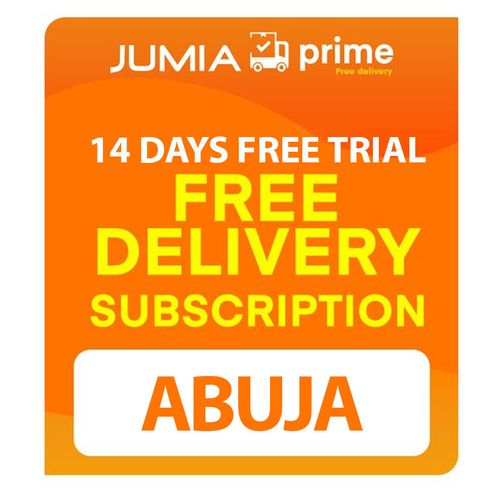 Jumia Prime Free Shipping - Abuja - 14 Days Free Trial