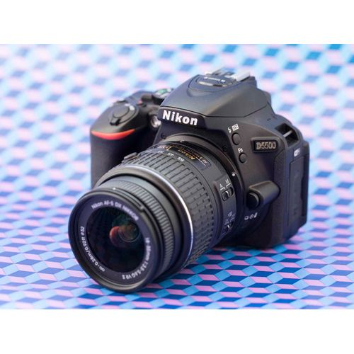 D5500 DX-format Digital SLR Camera With 18-55mm