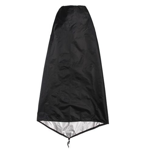 US Garden Outdoor Black Waterproof UV Chimenea Shape Protector Quality Cover