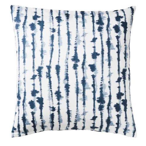 STRIMSPORRE Cushion (Throw) Cover, White/Blue 20″ X 20″
