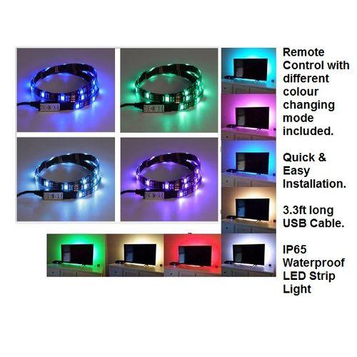 Generic Tv Led Backlight Light Strip Usb Changing Color