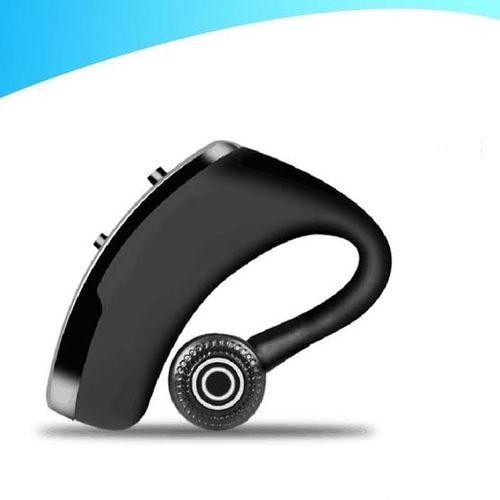 Wireless Bluetooth Earphone Earpiece With MIC- Black