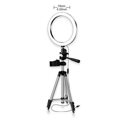 LED Ling Light Tripod Ring Light With Stand And Phone Holder Desk Makeup Ringlight Tripod Stand