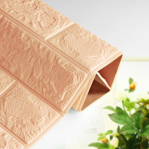 Lodaon DIY 3D Brick PE Foam Wallpaper Panels Room Decal Stone Decoration Embossed