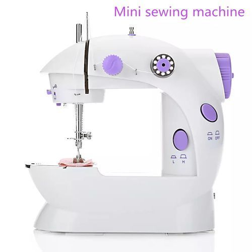 Mini Sewing Machine With Foot Pedal - Electric Operated
