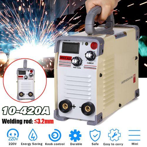 ARC Force Welder Inverter MMA 220V 420Amp Portable Stick Welding Machine IGBT AC
