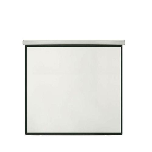 """Projector Screen 96"""" X 96"""" With Remote"""
