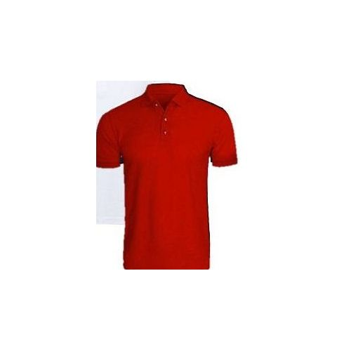 4 In 1 Quality Men's Polo T-Shirts-Grey/Navy Blue/Black/Red