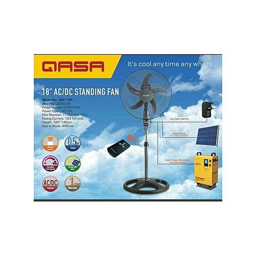 Qasa QASA 18 Inches AC/DC Standing Fan QSF-18R