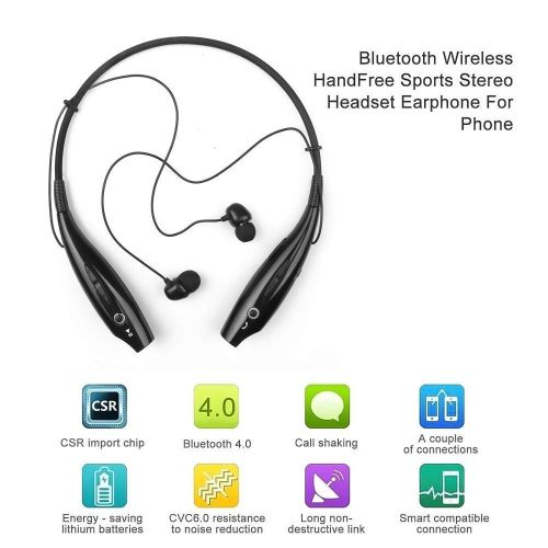 HBS-730 Sport Bluetooth Headphone With Mic Bass Earphone