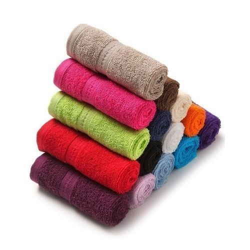 Pack Of 12 Face Towels - Multi Colour