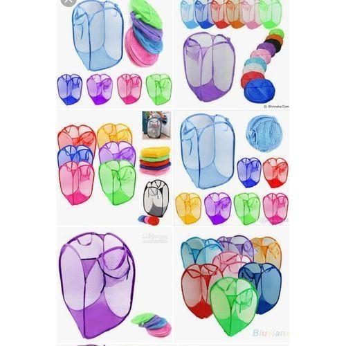 6pcs Laundry Basket Bin Tidy Storage Foldable Clothes Bag Organiser ---