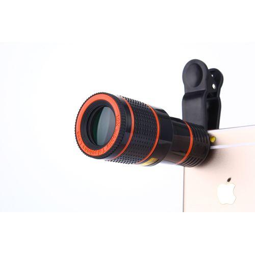 Telescope Magnifier Phone Camera Lens Holser For Camera Mobile Cell Phone 8 Zoom