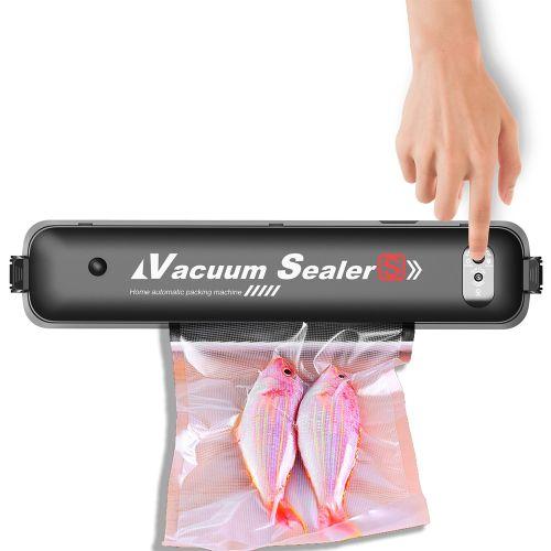 Household Food Vacuum Sealer Automatic Vacuum Air Sealing Machine For Food Preservation Packaging With 15PCS Sealer Bags
