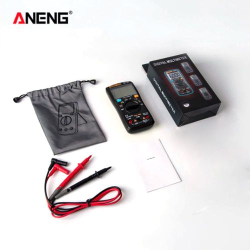 Aneng An8008 High-Precision Intelligent Digital Multimeter Automatic Black