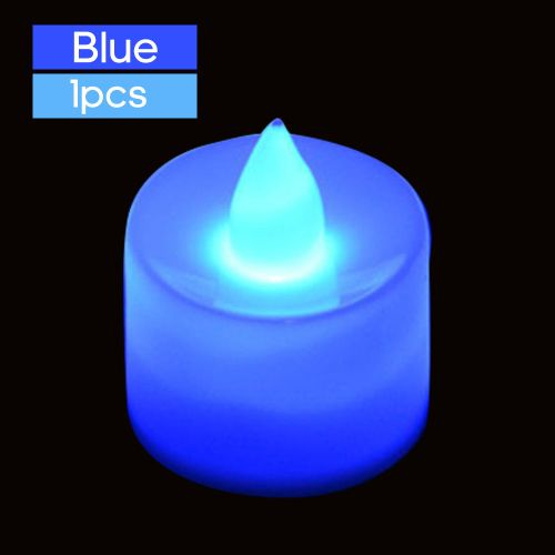 Electric Led Candle Lamp Flameless Tealight Candles For