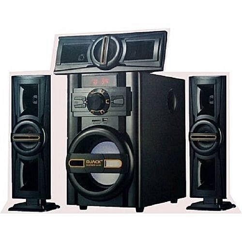 Sound Booster Dj 503 Djack Home Theater System Bluetooth