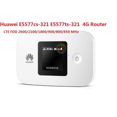 Huawei E5577 E5577cs321 Router 4g Wireless E5577s Lte Band Wifi Modem Router 3g 4g Wifi Router With Sim Card Slot
