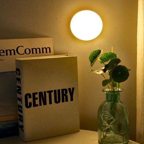 LED Sensor Night Lights Auto On/Off Smart Wireless Detector Light Wall Lamp