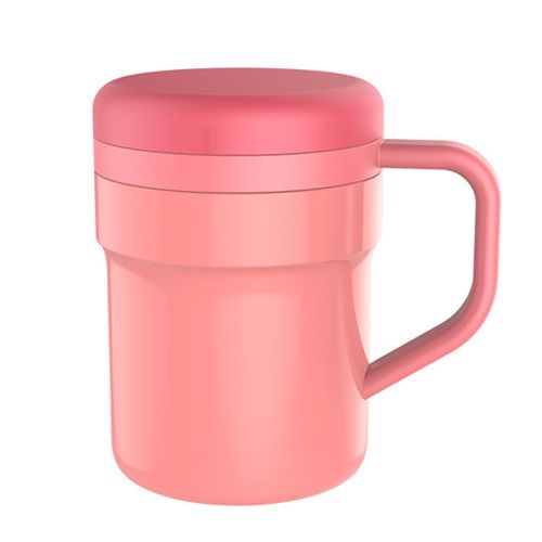 400ml Automatic Electric Mug Self Stirring Stainless Steel Mixing Pink