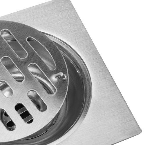 Floor Drain Bathroom Stainless Steel Floor Drain Floor Cover Deodorize Shower Waste Strainer