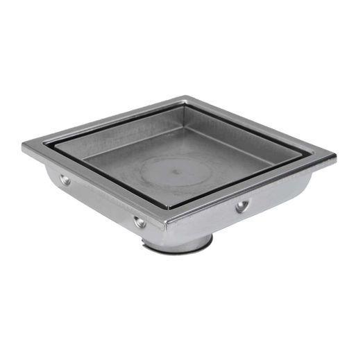 304 Stainless Steel Shower Grate Tile Insert Drain Square Bathroom Floor Waste