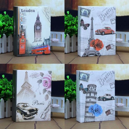 Photo Album 100 Photos Storage Case Family Wedding Memory Picture Film Book Belfry