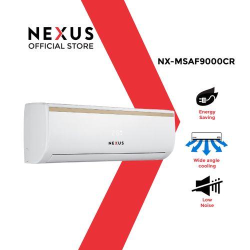 1HP NX-MSAF9000CR Split Air Conditioner + Installation Kit - White