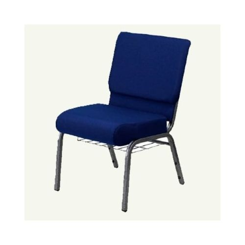 Church Chair - Blue (Delivery Within Lagos, Agbara, Sango Ota, Anambra And Asaba Only)