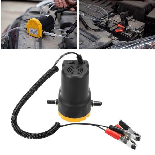 12V Fluid Oil Diesel Extractor Change Transfer Pump Electric Scavenge Suction