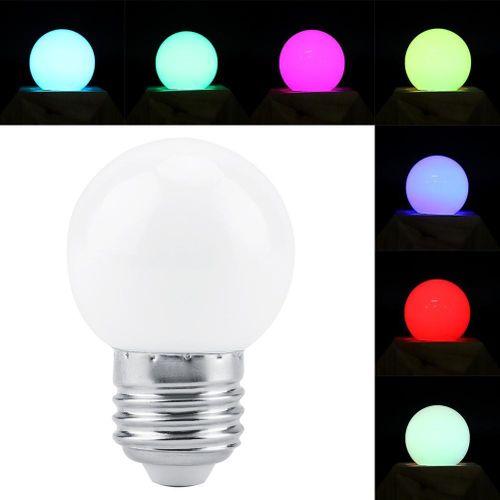 E27 AC150-250V 3W RGB LED Light Bulb Colorful Smart Lamp Bulbs For Christmas Festival Lighting