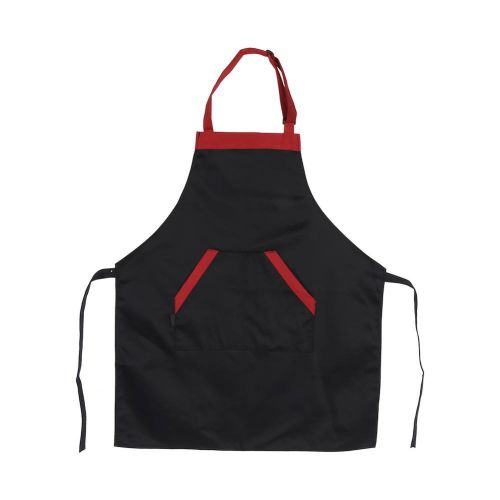 2 Colors Adjustable Unisex Polyester Apron Dress With 2 Pockets Chef Waiter Kitchen Restaurant Design