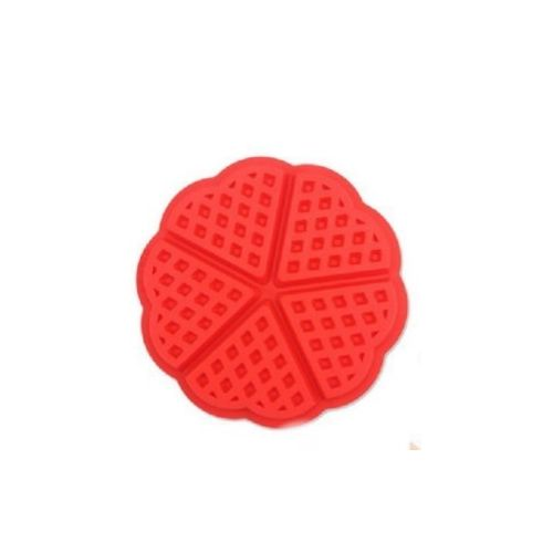 4/5Cavity Non-stick Silicone Nestle Waffles Mold Cake Chocolate Pan Muffin Breakfast Baking Mould Cake Decorating