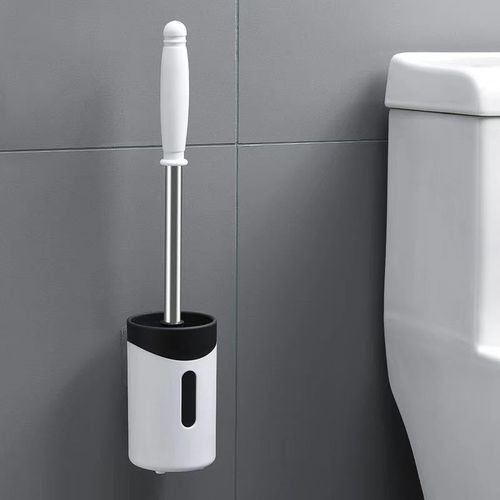 Bathroom Pendants Long Handle Cleaning Brushs Wall Hanging Toilet Brush Holder