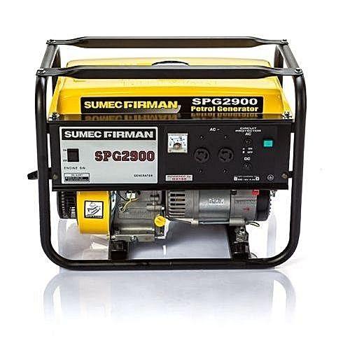 2.2kva Manual Starter Sumec Firman Petrol Generator SPG 2900