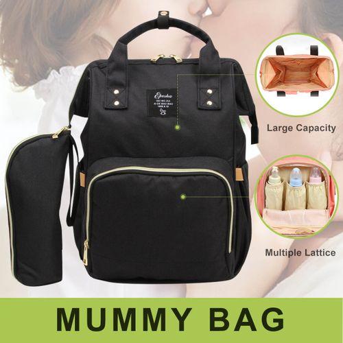 Waterproof Women Mummy Bag Baby Maternity Diaper Nappy Large Changing Travel