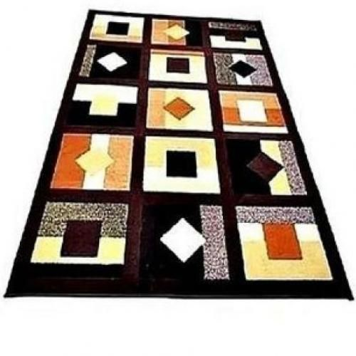 Coco Brown Center Rug4ft X 6ft