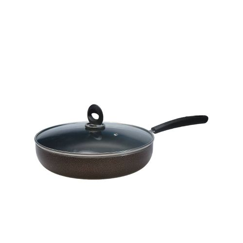 Non-stick Frying Pan + Glass Cover Lid