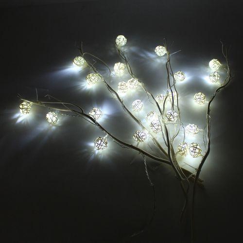 2 Pack 61cm Garden LED Twig Lights Solar Tree Lights Decor Outdoor
