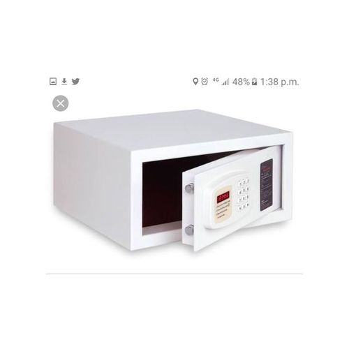 Electronic Safe Box, Digital White