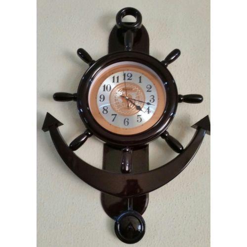 Big Anchor Wall Clock