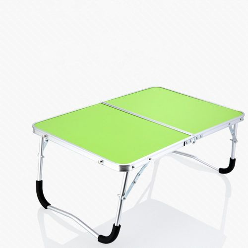 Double-Folding Computer Table Desk Laptop Writing Workstation Green