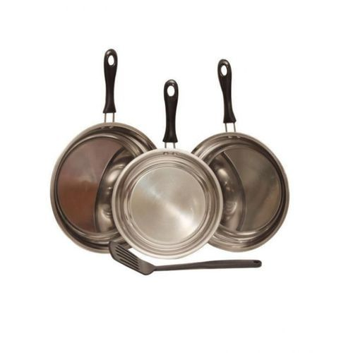 {3 In 1 }Stainless Fry Pan