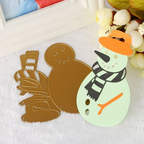 Merry Christmas Metal Cutting Dies Stencils Scrapbooking Embossing DIY Crafts M-Gold