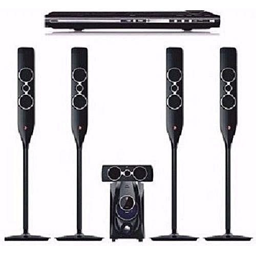 Powerful DJ 5050 Bluetooth Home Theatre System+ DVD Player