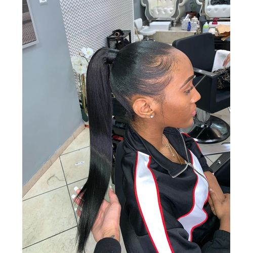 Human Hair Ponytail Extension 18 Inches